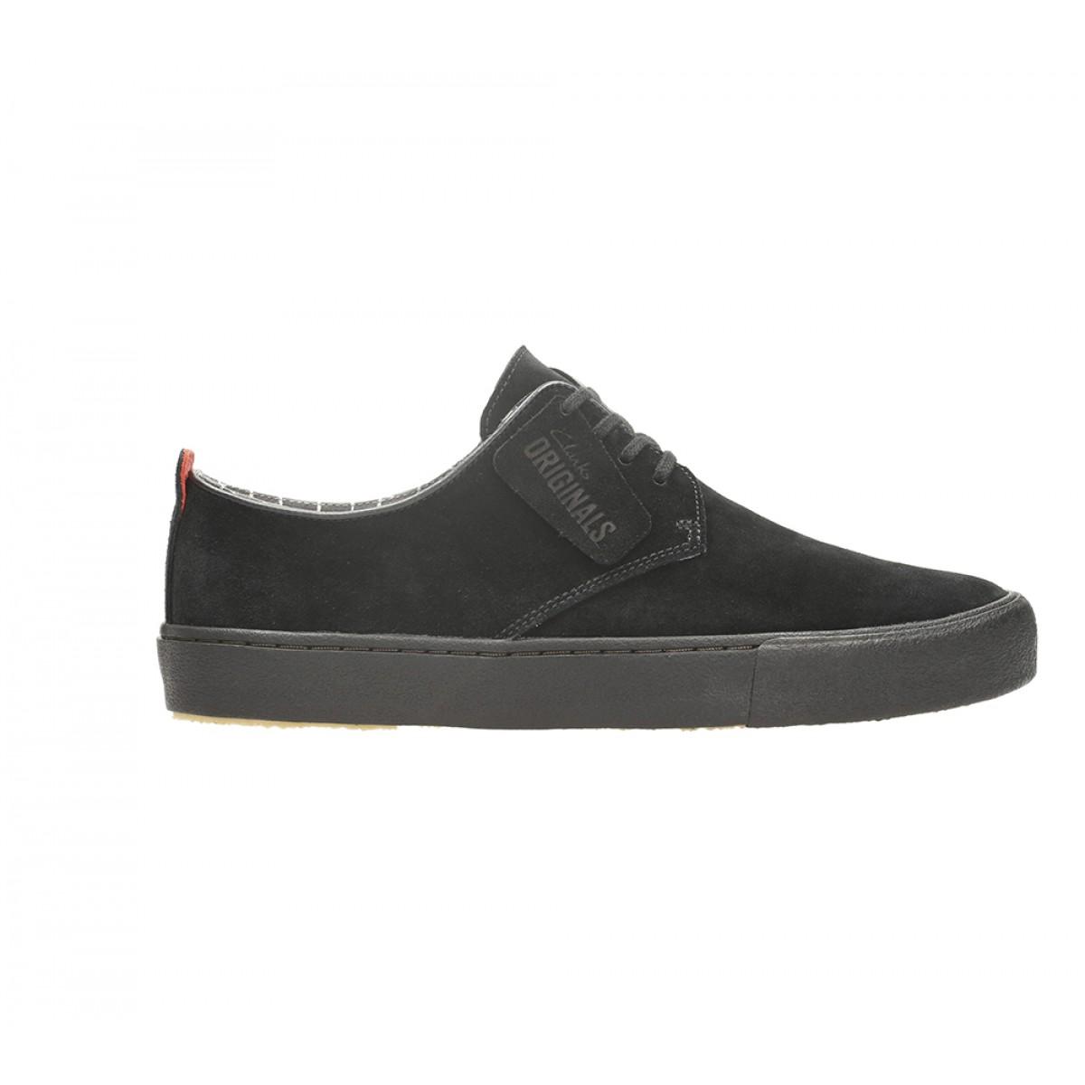 Clarks Mens Leisure Shoe Black