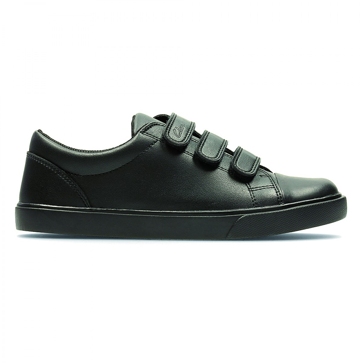Clarks Loxton Time Inf Black Leather Shoes