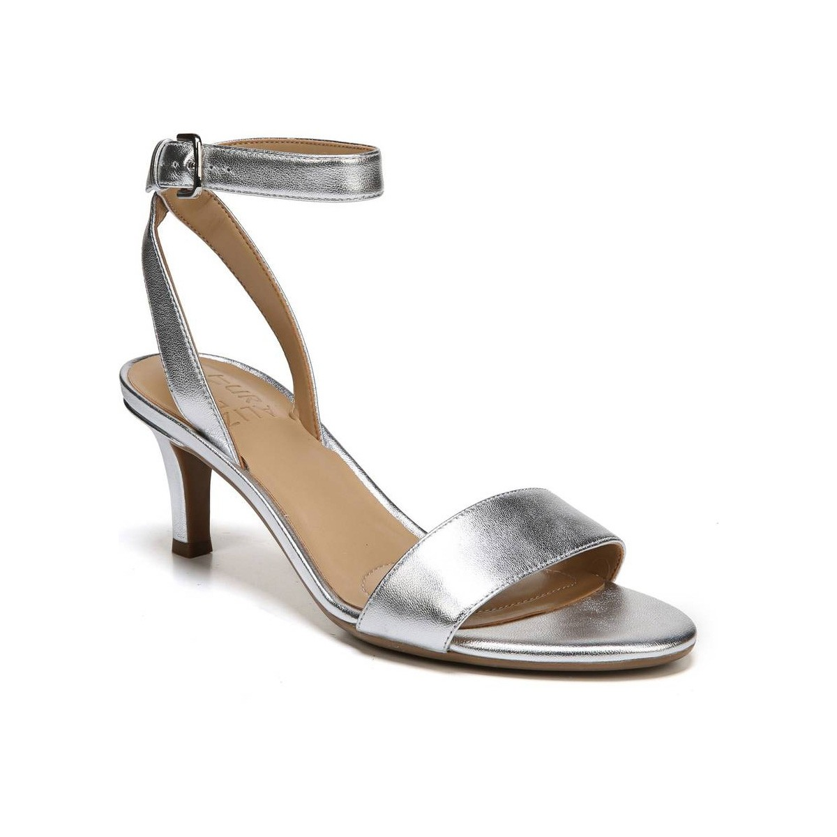 Naturalizer Tinda Silver Sandals Women