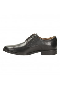 CLARKS TILDEN PLAIN BLACK