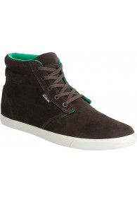 CLARKS TORBAY MID BROWN SUE