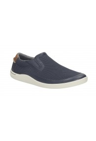CLARKS MAPPED STEP BLUE